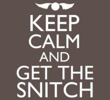 Harry Potter - Keep Calm and Get The Snitch One Piece - Short Sleeve