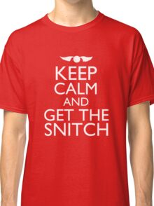 Harry Potter - Keep Calm and Get The Snitch Classic T-Shirt