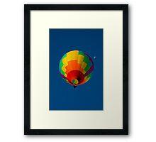 Pop Goes The Color Framed Print