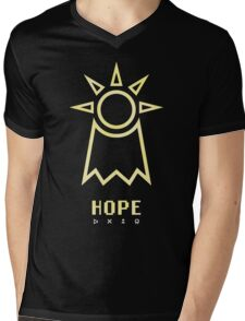 Digimon - Crest of Hope Mens V-Neck T-Shirt
