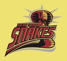 New York Snakes One Piece - Short Sleeve