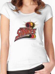 New York Snakes Women's Fitted Scoop T-Shirt