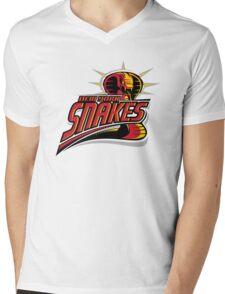New York Snakes Mens V-Neck T-Shirt
