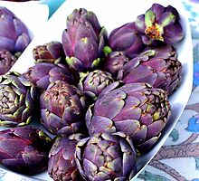 Passion For Purple by Fraida Gutovich