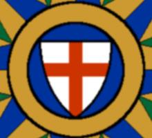 Anglican Compass Rose Sticker