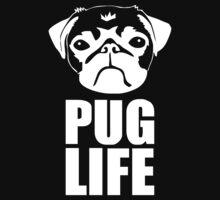 PUG LIFE DOG TEE NEW by Kurni4Kabo