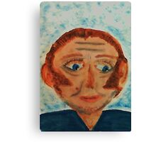 Rick, watercolor Canvas Print