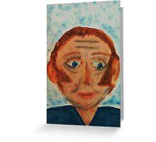 Rick, watercolor Greeting Card