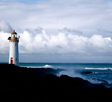 Port Lighthouse by seashells