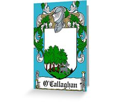 O'Callaghan (Cork)  Greeting Card