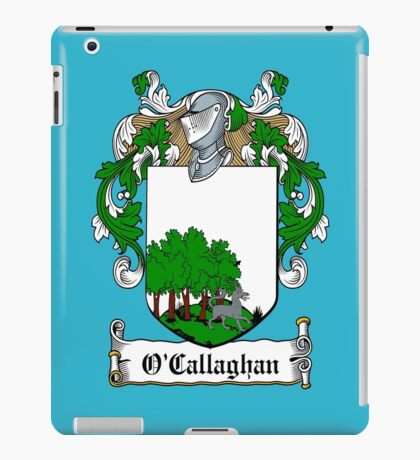 O'Callaghan (Cork)  iPad Case/Skin