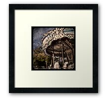 Abandoned Wonder Framed Print