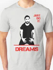 Shia Lebeouf Motivation Black T-Shirt