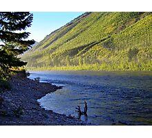 Silence (Glacier National Park, Montana, USA) Photographic Print