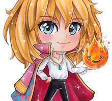 Howl Chibi1 - Howl's Moving Castle by Dacdacgirl