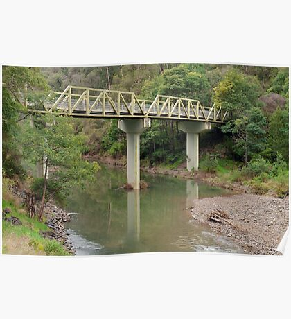 Thomson River Bridge (1) Poster