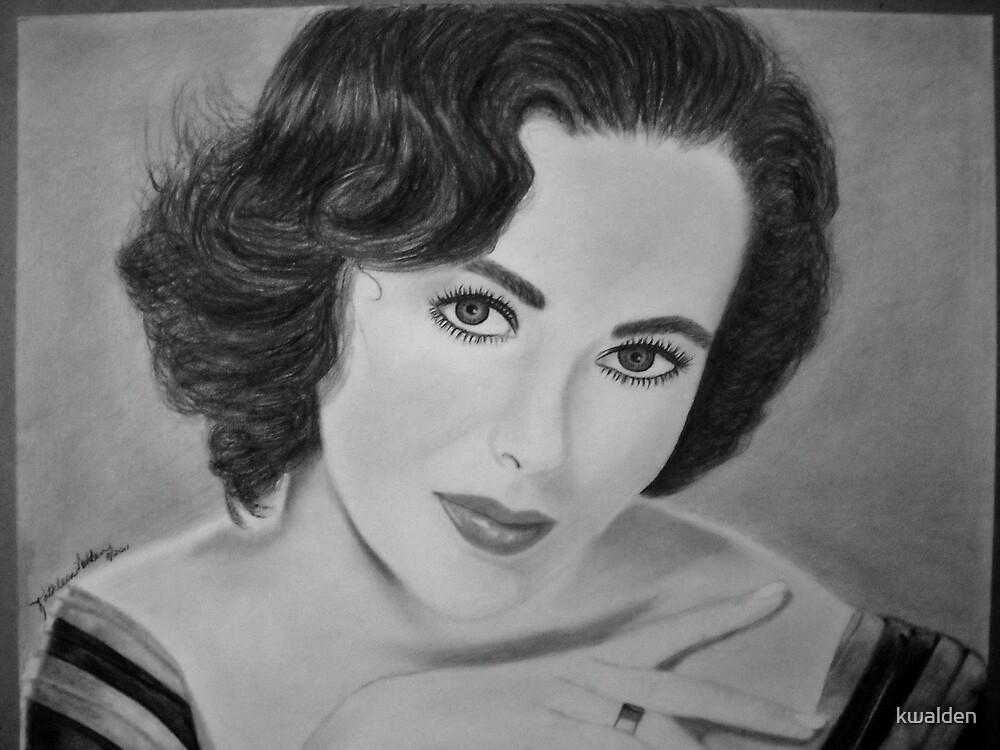 Elizabeth Taylor by kwalden