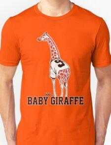 Baby Giraffe Belt Unisex T-Shirt