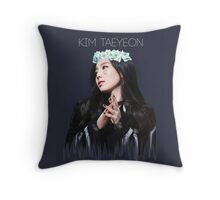 Girls' Generation - Kim Taeyeon Throw Pillow