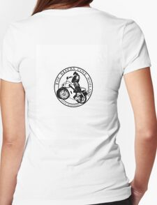 The Bikers Cove Womens Fitted T-Shirt