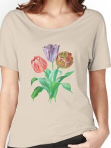 Tulip Trio Tee Women's Relaxed Fit T-Shirt