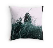 Windmill at Brill Throw Pillow