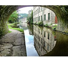 The Through view at Hebden Bridge. Photographic Print
