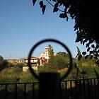 Church inside ring by mdagis