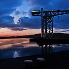 Clydebank Titan Sunset by Peter Stark