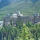 Banff Springs Hotel, Alberta, Canada by Adrian Paul