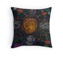 Feeling Groovey Throw Pillow