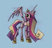 My Little Pony - MLP - FNAF - Princess Cadence Animatronic Kids Tee