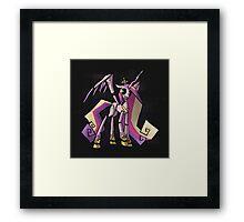 My Little Pony - MLP - FNAF - Princess Cadence Animatronic Framed Print