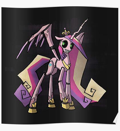 My Little Pony - MLP - FNAF - Princess Cadence Animatronic Poster