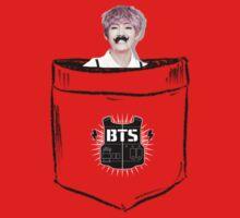 BTS/Bangtan Sonyeondan - Pocket V (Kim Taehyung) One Piece - Short Sleeve