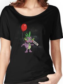 My Little Pony - MLP - FNAF - Spike Animatronic Women's Relaxed Fit T-Shirt