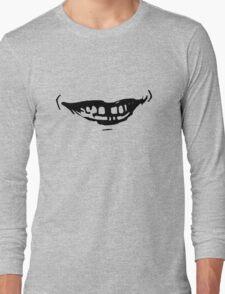 Mac Demarco Mouth Grey Long Sleeve T-Shirt