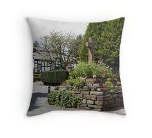 Quaint Villages Throw Pillow