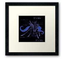 My Little Pony - MLP - FNAF - Princess Luna Puppet Marionette  Framed Print