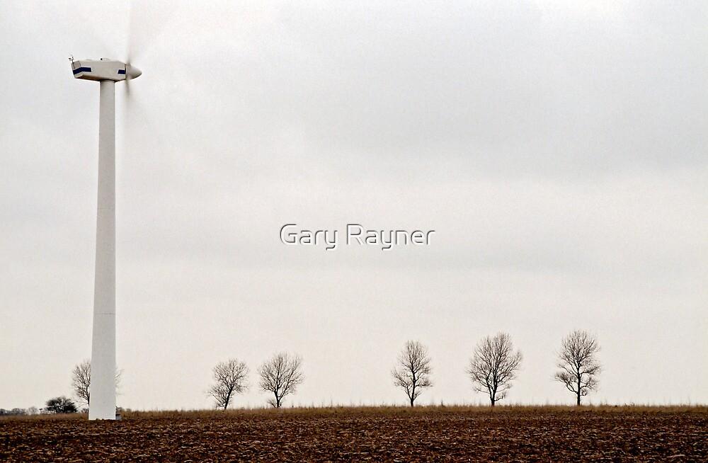 Wind turbine by Gary Rayner