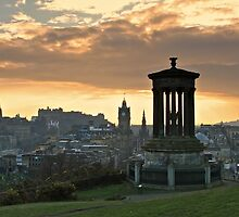 Edinburgh Skyline by asm1