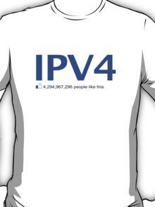 IPV4 4,294,967,296 people like this T-Shirt