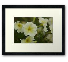 Flower me Framed Print