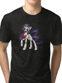 My Little Pony - MLP - FNAF - Rarity Animatronic Tri-blend T-Shirt