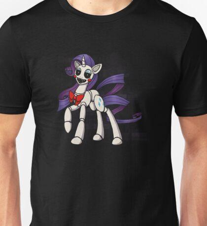 My Little Pony - MLP - FNAF - Rarity Animatronic Unisex T-Shirt