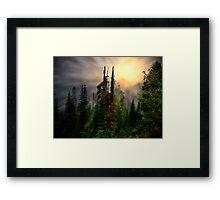 Light Me Up ~ Oregon High Cascades ~ Framed Print
