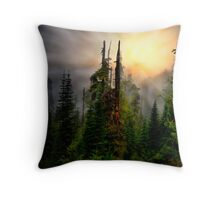 Light Me Up ~ Oregon High Cascades ~ Throw Pillow