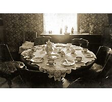 Table old fashioned Photographic Print