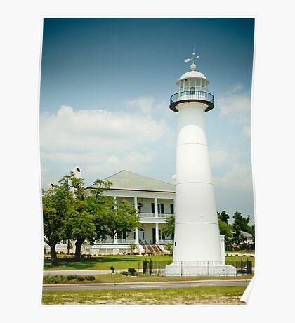 Biloxi Lighthouse & Visitor's Center Poster