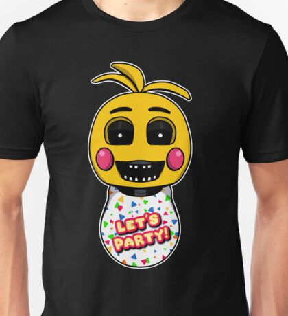 Five Nights at Freddy's - FNAF 2 -Toy Chica Unisex T-Shirt